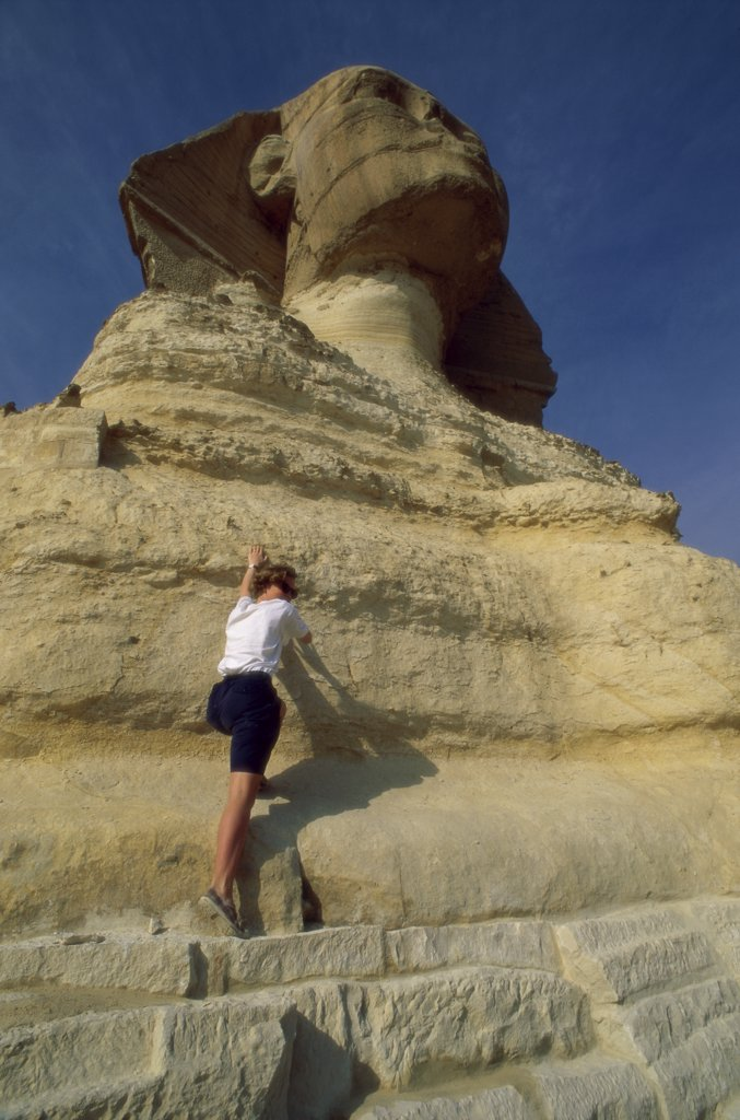 Stock Photo: 1119-119 Great Sphinx 