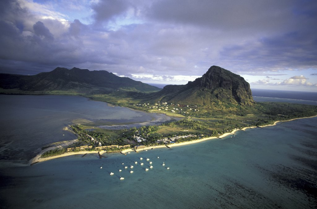 Stock Photo: 1119-1819A Morne Brabant Mauritius