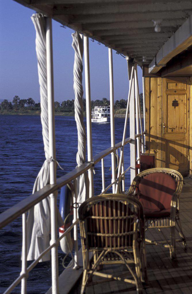Stock Photo: 1119-1902 SS Sudan Steamboat Egypt