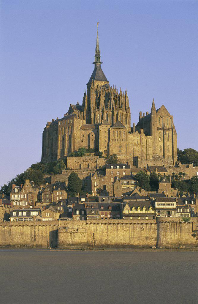 Stock Photo: 1119-487 Mont-Saint-Michel Gulf of Saint Malo Normandy France
