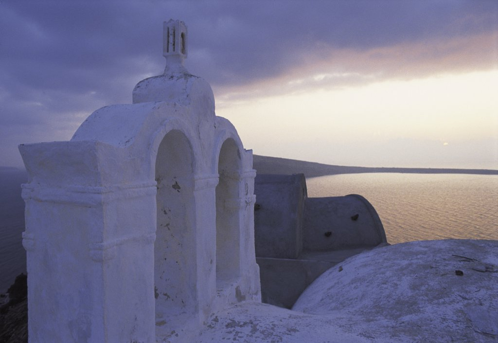 Stock Photo: 1119-507 Santorini Cyclades Islands Greece