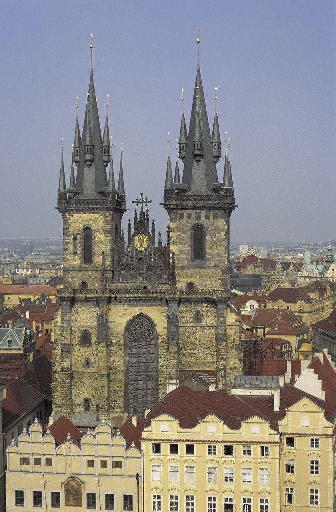 Stock Photo: 1119-663 Church of Our Lady Before Tyn