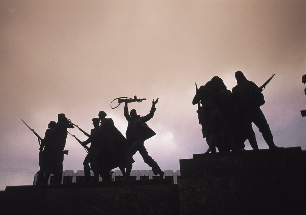 Stock Photo: 1119-705 Monument to the Heroic Defenders of Leningrad