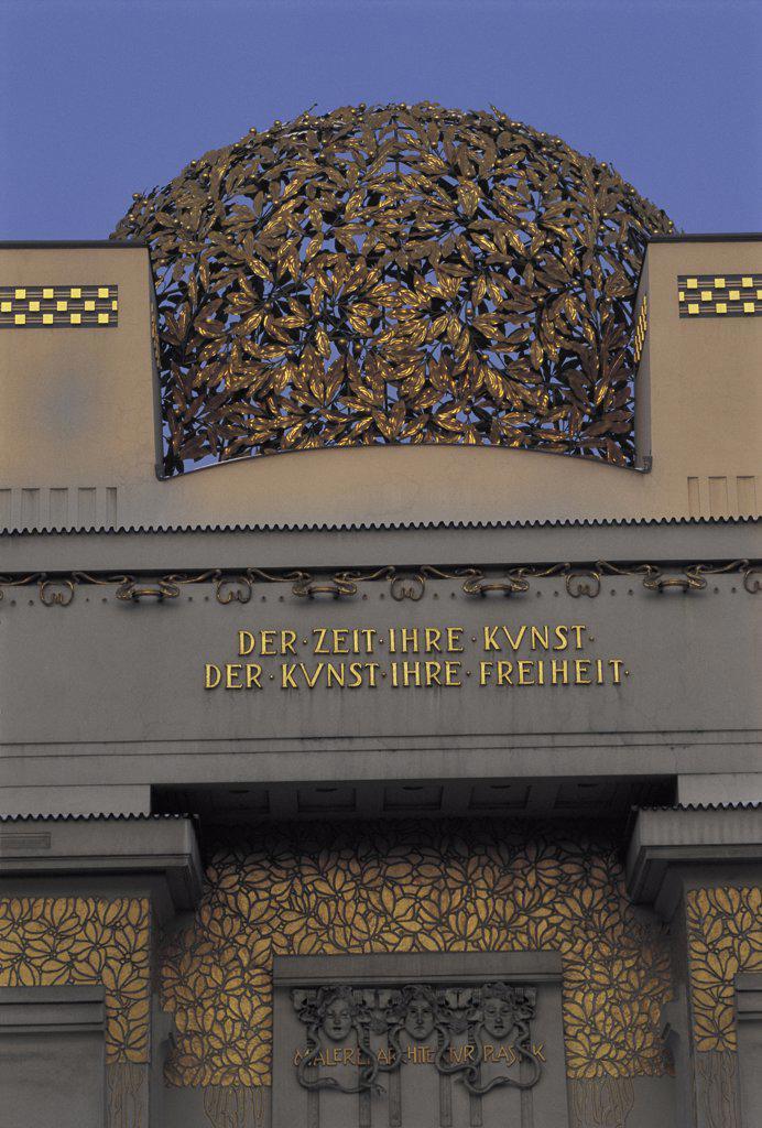 Secession Building Vienna Austria   : Stock Photo