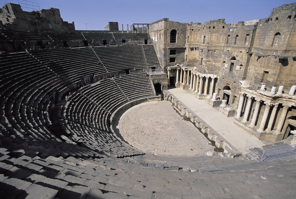 Stock Photo: 1119-935 Roman Amphitheater