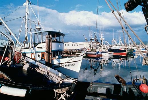 Stock Photo: 112-3610 Bellingham Harbor Washington USA