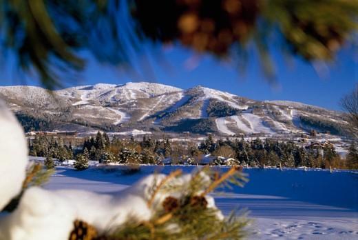 Stock Photo: 112-3667 Steamboat Springs Colorado USA
