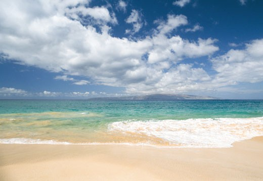 Stock Photo: 112-6042A Makena Beach State Park