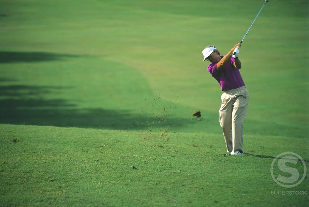 Wailea Golf Course Maui Hawaii USA  : Stock Photo
