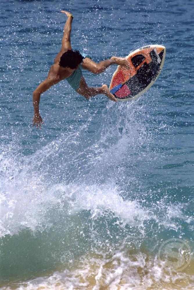 Skimboarding : Stock Photo