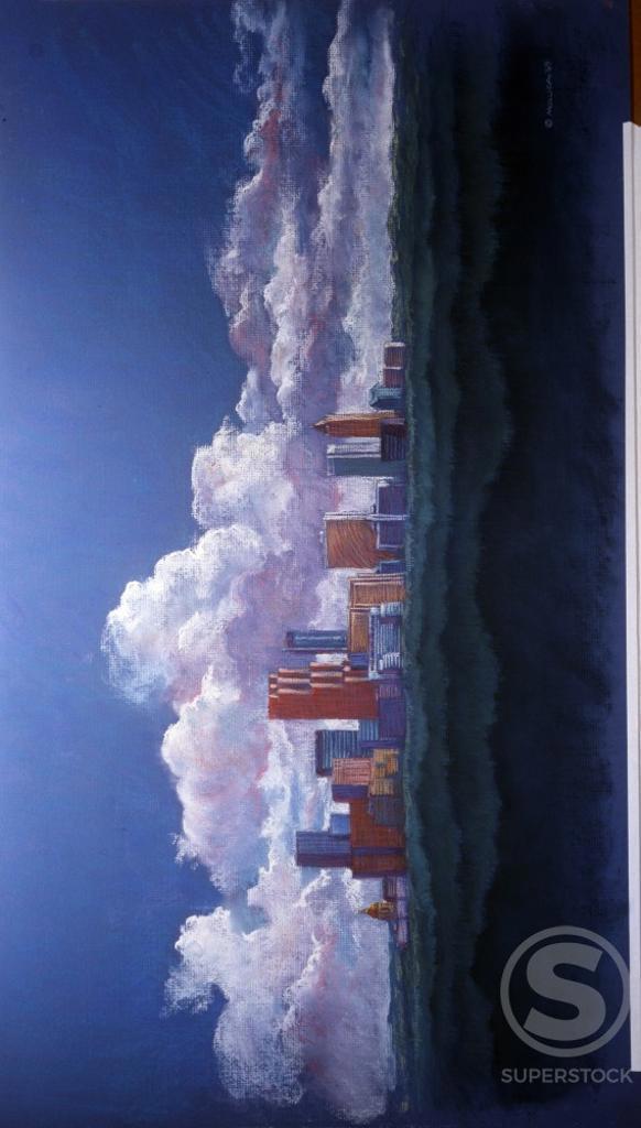 Stock Photo: 1133-26009 Atlanta Skyline by Patti Mollica, 1989