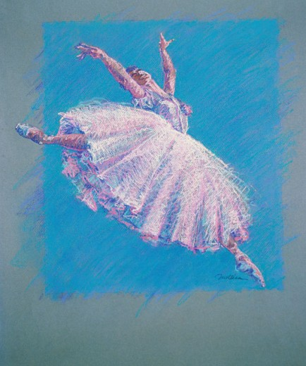 Stock Photo: 1133-26073 Ballet Dancer 