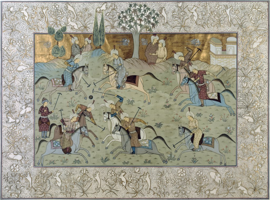 Royal Indian Court Polo Scenes (Jaipur Rajasthan Desert, India) 