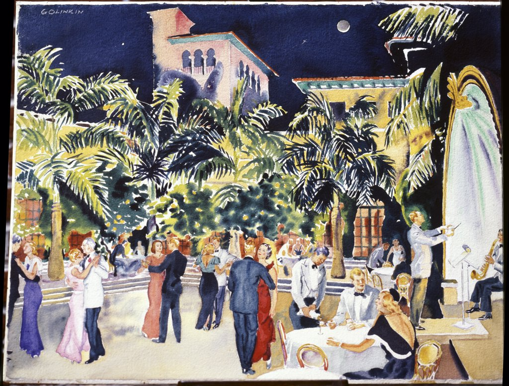 Stock Photo: 1134-619 Dance at The Everglades