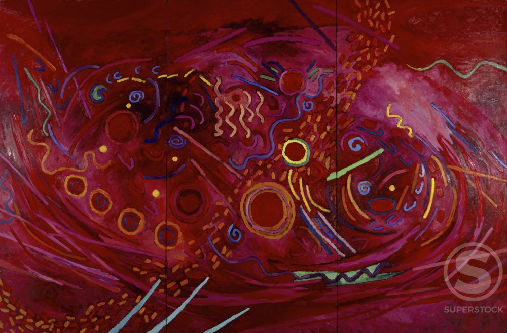 Stock Photo: 1147-380 Music of the Spheres: Mars