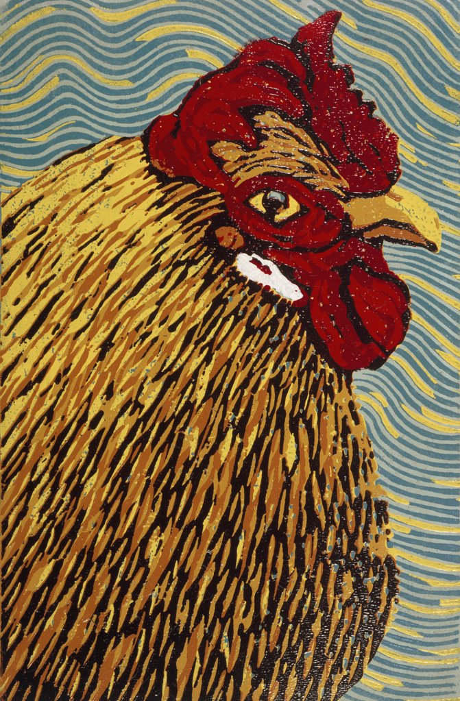 Stock Photo: 1154-57 Hen