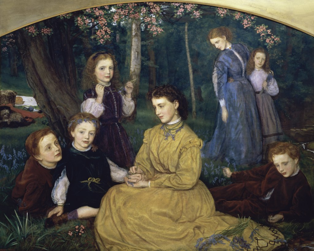 Stock Photo: 1158-1042 A Birthday Picnic 