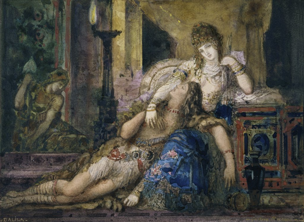 Stock Photo: 1158-1119 Samson and Delilah 
