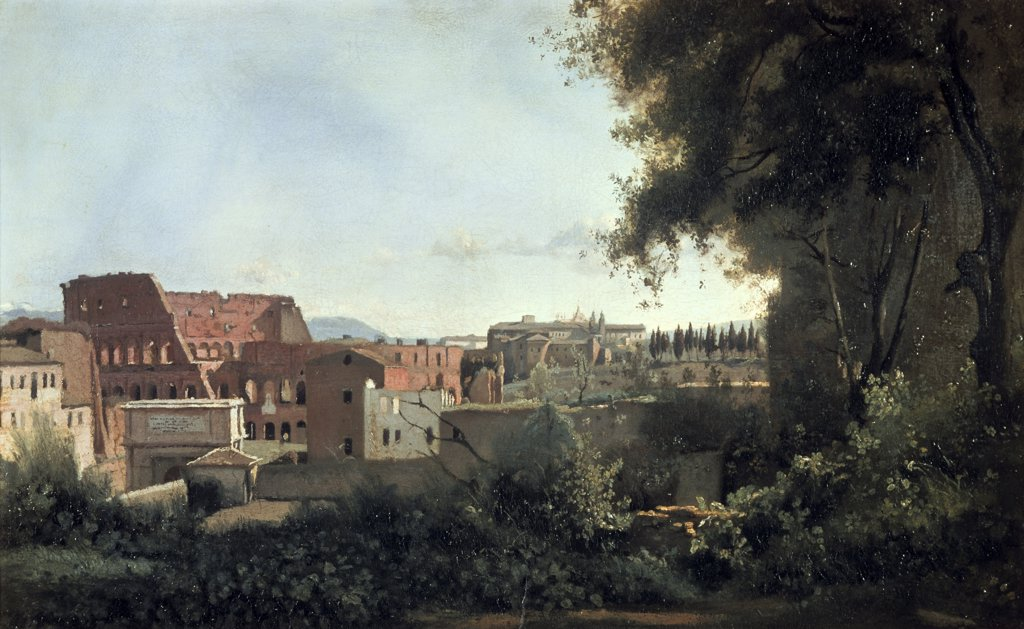 Colosseum Seen Through the Farnese Gardens