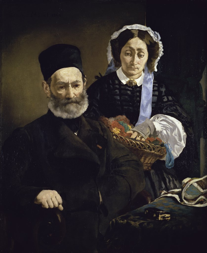 Portrait of Mr. and Mrs. Auguste Manet
