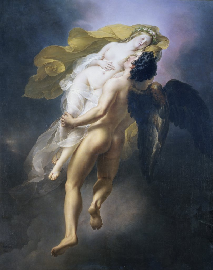 Stock Photo: 1158-1240 Oreithyia Taken Away by Boreas 