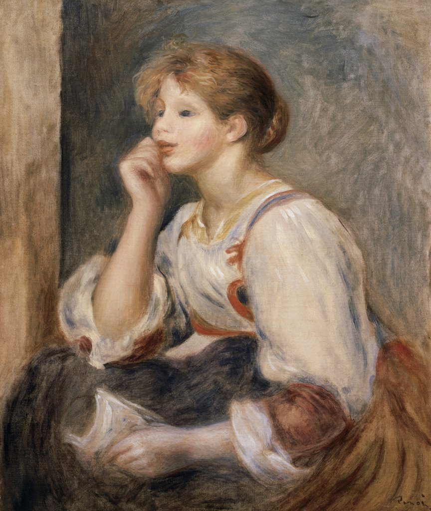 Stock Photo: 1158-1271 Woman with a Letter 