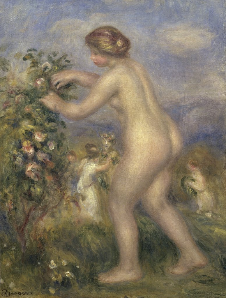 Aside! What Renoir girl with flowers are