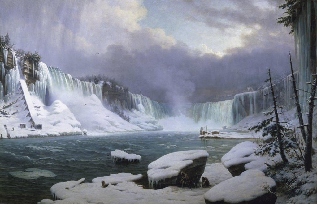 Stock Photo: 1158-1356 The Great Cataract at Niagara 