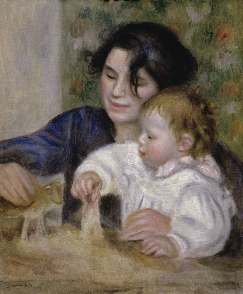 Stock Photo: 1158-1379 Gabrielle and Jean 