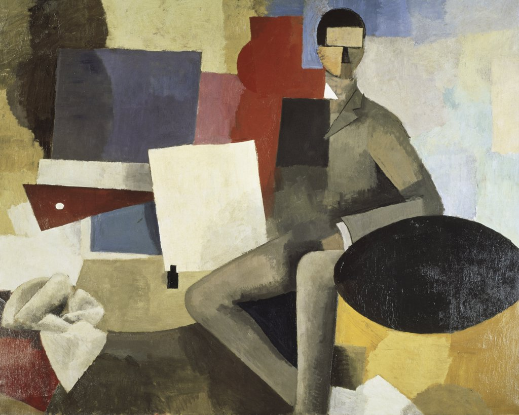 Stock Photo: 1158-1523 Man Seated