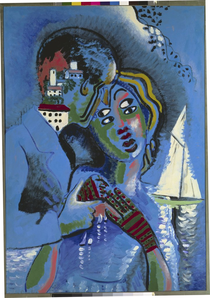 The Lovers by Francis Picabia, 1879-1953 : Stock Photo