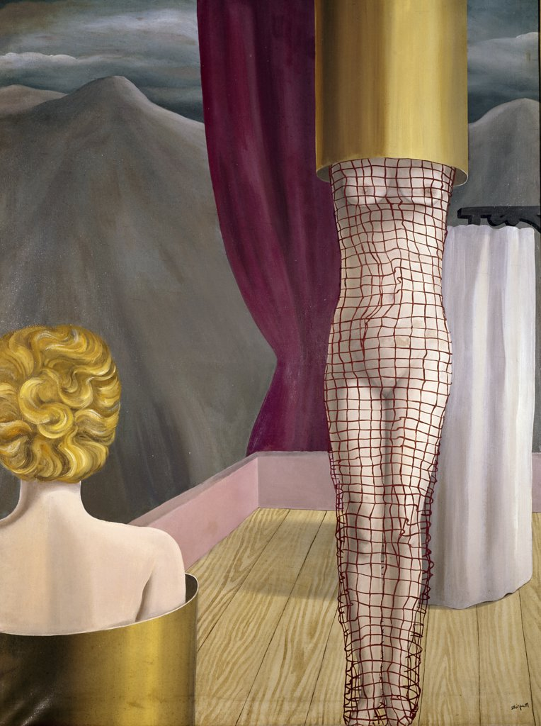 Stock Photo: 1158-1688 The Magician's Accomplices by Rene Magritte, 1926, 1898-1967, Private Collection