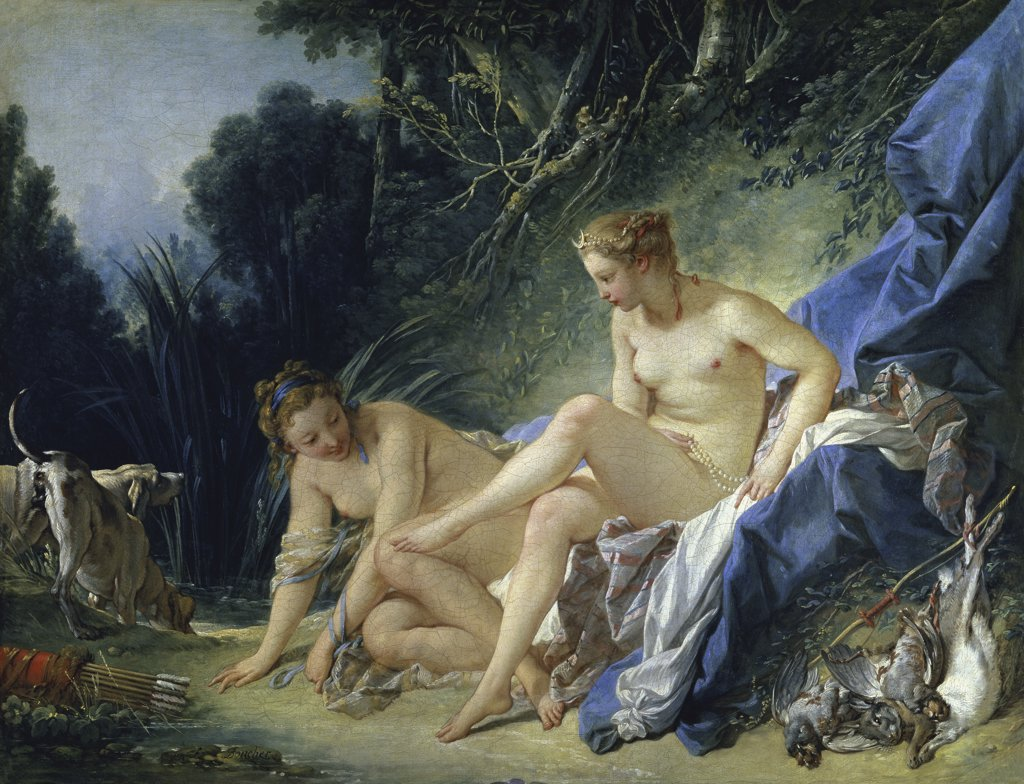 Stock Photo: 1158-1703 Diana Leaving the Bath 