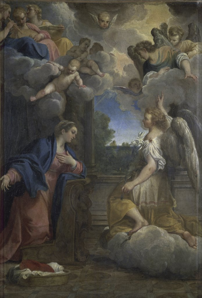 Stock Photo: 1158-1722 The Annunciation