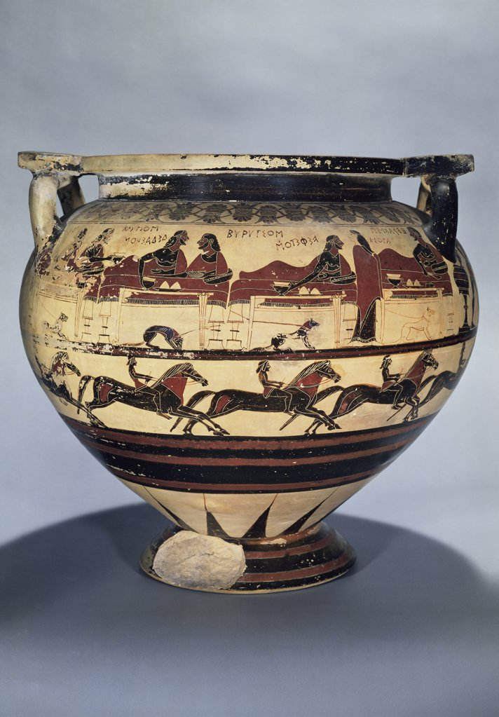 Stock Photo: 1158-1746 Krater: Corinthian Style 