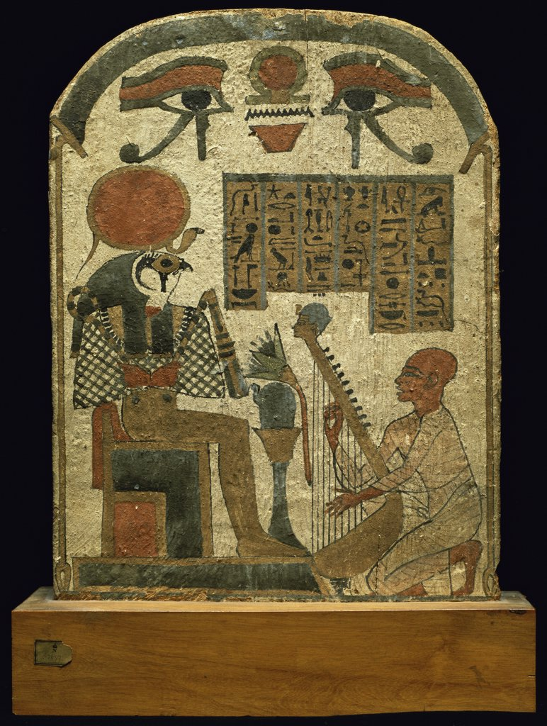 Stock Photo: 1158-1766 Funeral Stele