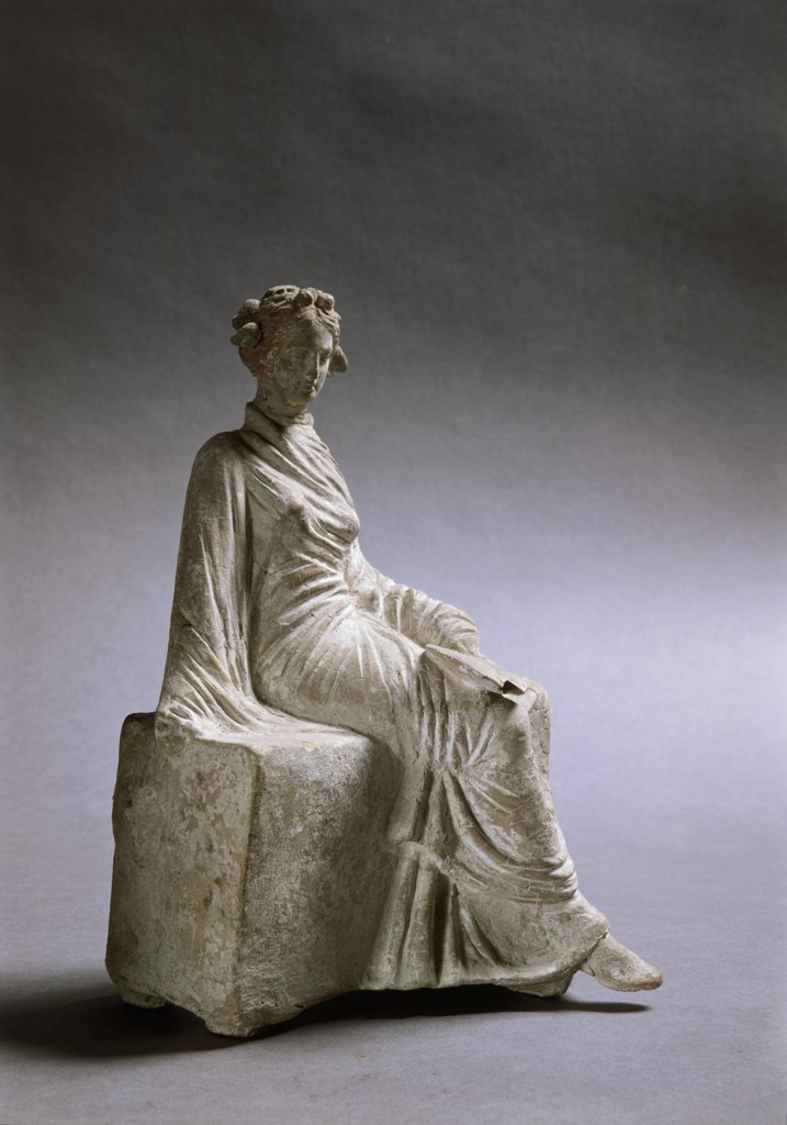 Seated Woman at Rest 