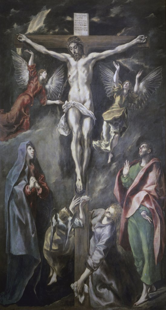 Stock Photo: 1158-1878 The Crucifixion