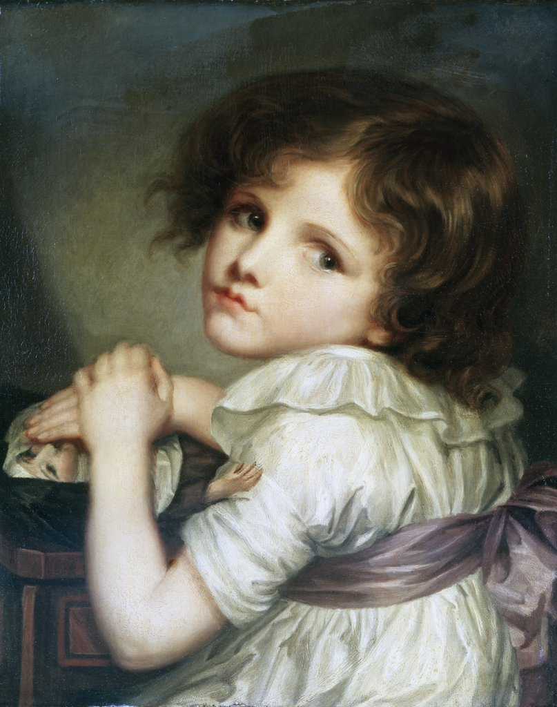 Stock Photo: 1158-1884 A Child with a Doll