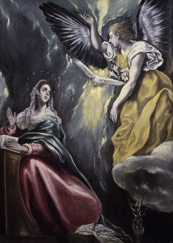 Stock Photo: 1158-1888 The Annunciation