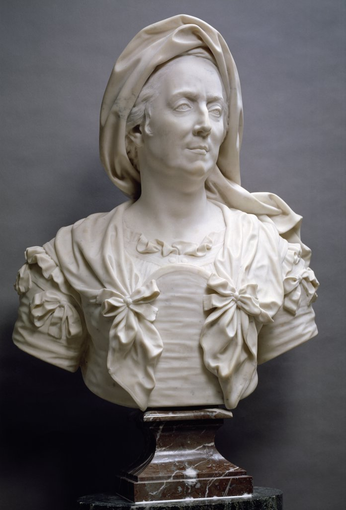 Stock Photo: 1158-1923 Mary Serre by Antoine Coysevox, (1640-1720), France, Paris, Musee du Louvre