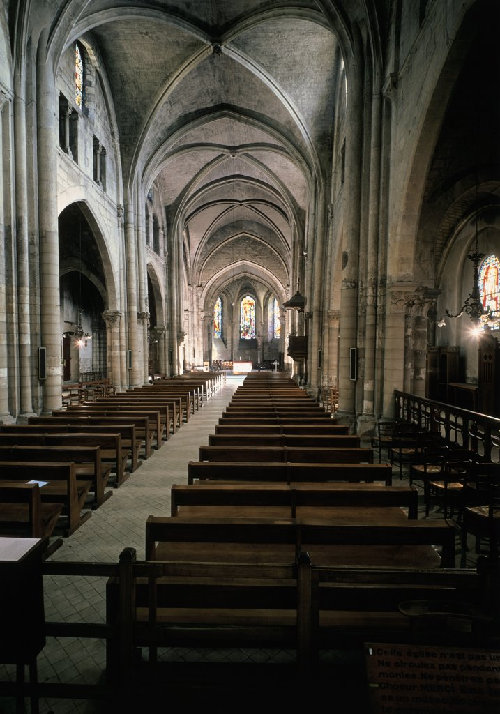 Stock Photo: 1158-1975 Interior View