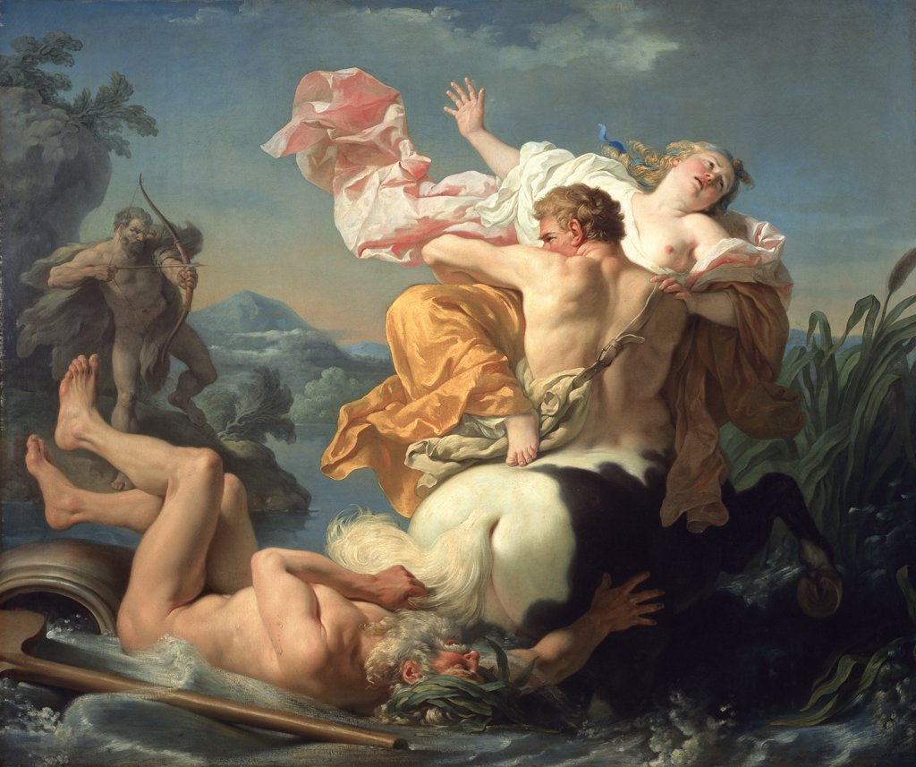 Stock Photo: 1158-1991 Abduction of Deianeira 