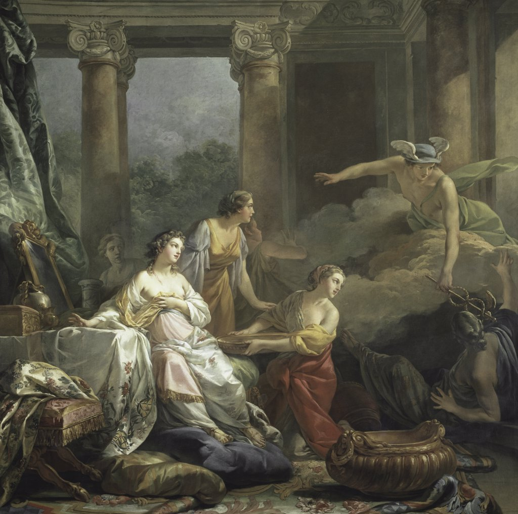 Stock Photo: 1158-2045 Mercury, Herse and Aglauros 