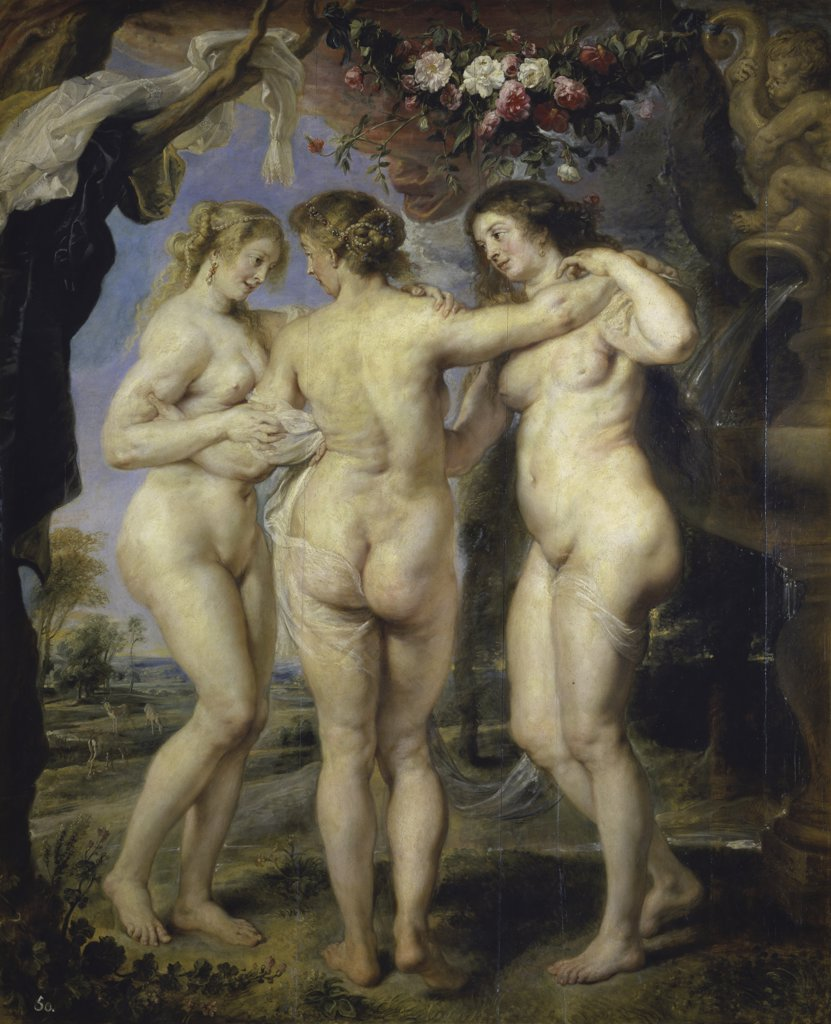 Stock Photo: 1158-2117 The Three Graces