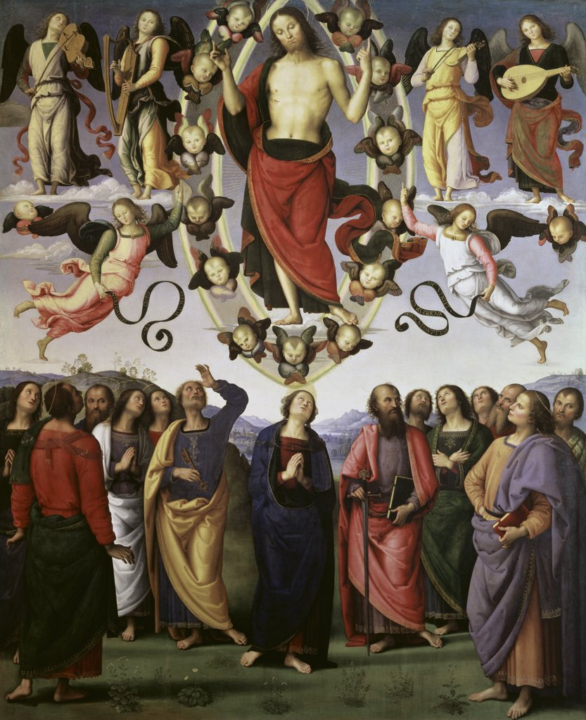 Stock Photo: 1158-2132 The Ascension of Christ 