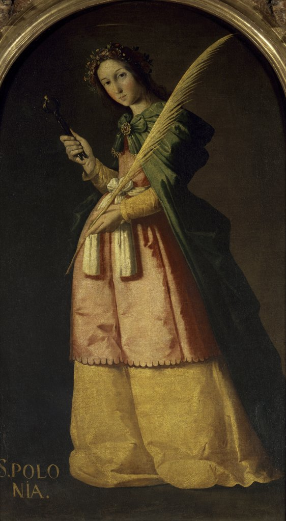 Stock Photo: 1158-2218 Saint Apollonia 