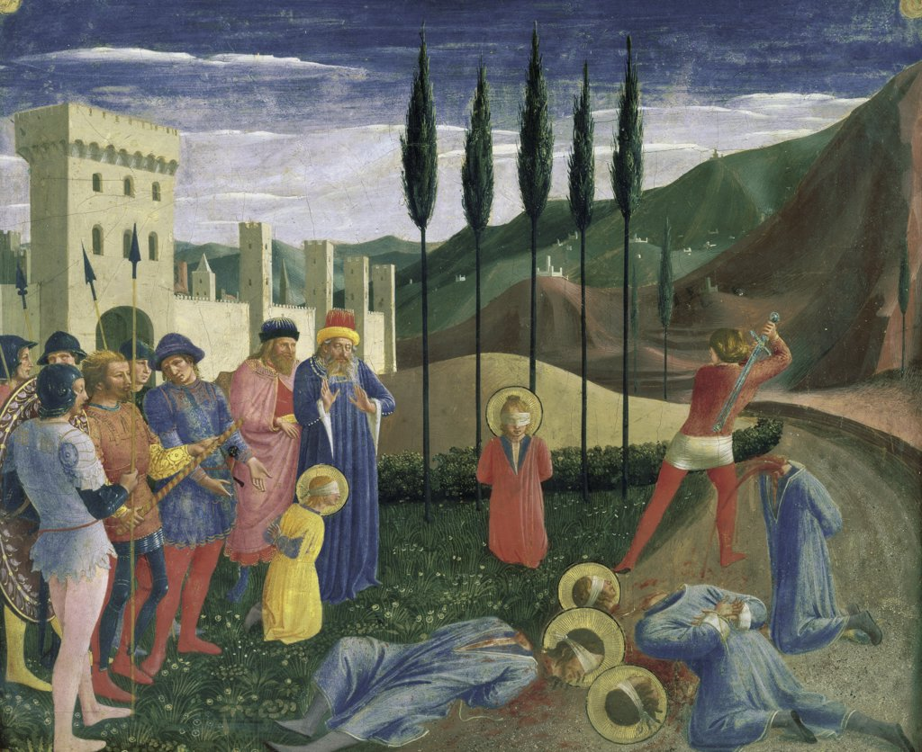 Stock Photo: 1158-2234 The Martyrdom of Saints Cosmas and Damian 