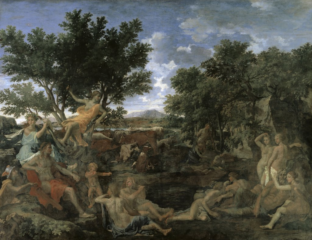 Stock Photo: 1158-2363 Apollo and Daphne 