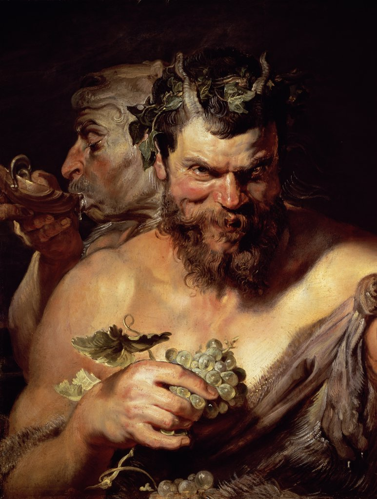 Stock Photo: 1158-2365 The Two Satyrs